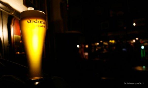 Ordum Speltia, la primera cerveza de escanda asturiana. Fotografía de Pablo Lorenzana.