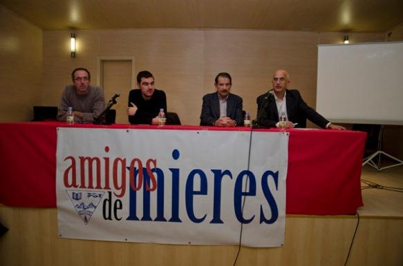 Acto de inauguración de la exposición. Imagen de Pablo Gómez