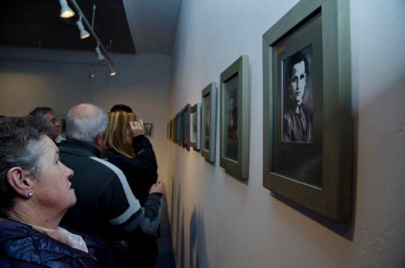 Parte de la exposición. Imagen de Pablo Gómez