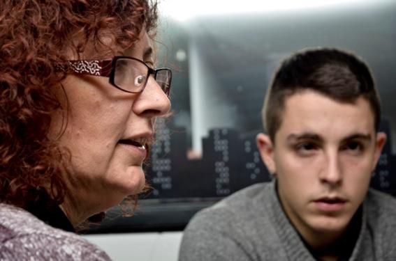 Entrevista Alfon y su madre. 24.01.2013