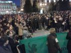 Parte de los manifestantes en el 23-F. Imagen de Mar Rodríguez