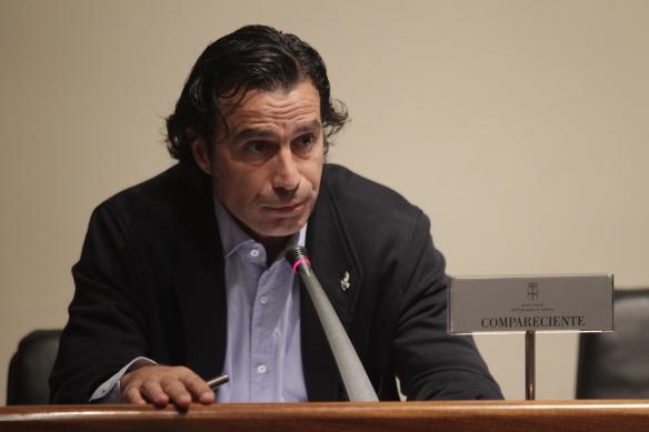 Antonio Virgili, director en funciones de RTPA nuna imaxe d'archivu. Foto: Pablo Lorenzana.