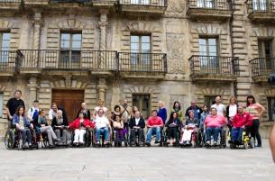 Un momento de la visita. Imagen de Iván Alameda