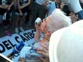 Manifestación de las 'Mujeres del Carbón' en Madrid. Imagen de Juanjo Conde