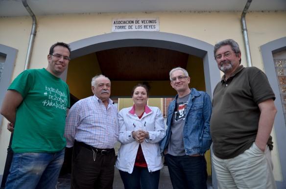Los miembros de la Cumbre Social del Valle del Nalón. Imagen de Pablo Gómez