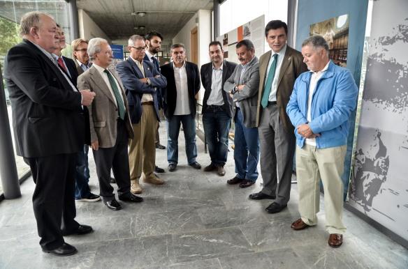 Inauguración de la exposición sobre la junta en el IBQ. Imagen de Pablo Gómez