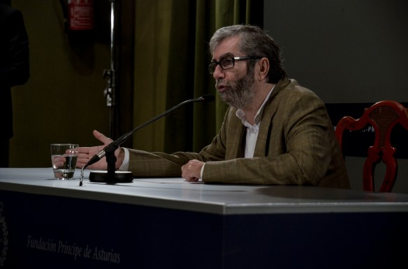 Antonio Muñoz Molina. Imagen de Pablo Gómez