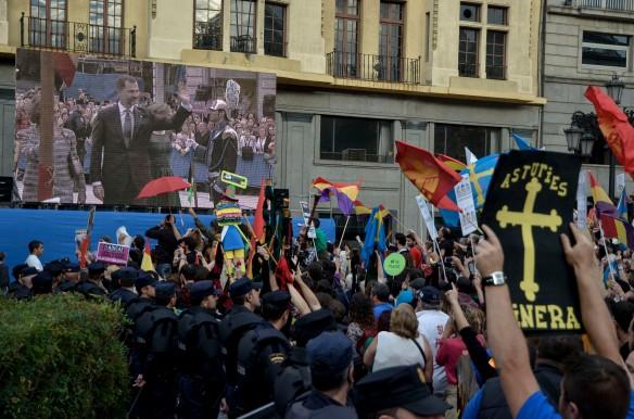 Imagen de una protesta