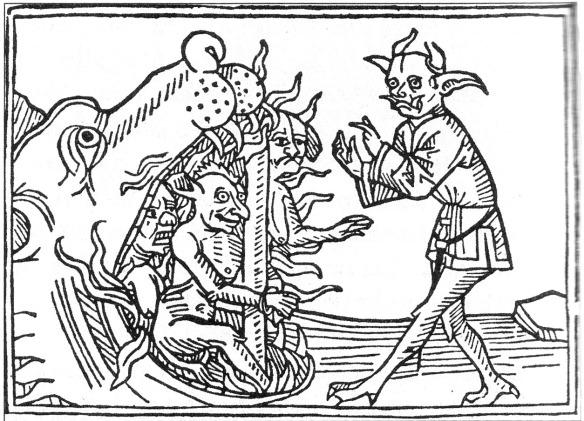 Una ilustración del 'Lexikon der Monster, Geister und Dämonen' de Felix Bormann