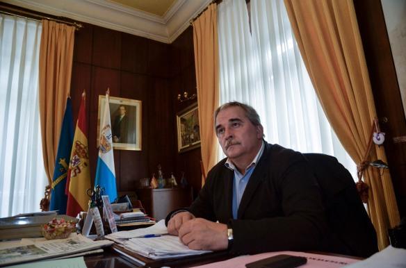 Imagen del alcalde de Mieres
