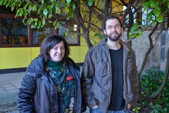Estefanía Torres y Emilio León