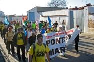 Marchas por la dignidad. Mayorga.Azahara Sastre