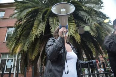 03.06.2014 Concentracion contra del cierre de la madreña. Imagen de Pablo Gómez
